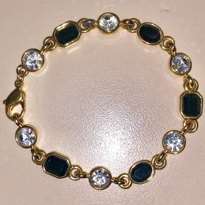 Jewelry - Black Spinel 18k Gold Over Sterling Silver 7.21CTW